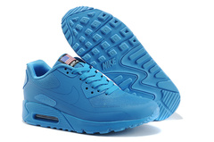 Кроссовки мужские Nike Air Max 90 HyperFuse  Independence Day  Light  Blue