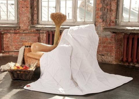 Элитное одеяло всесезонное 200х220 Linenwash от German Grass