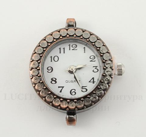 Основа для часов (цвет - античная медь) 29х22х7,5 мм