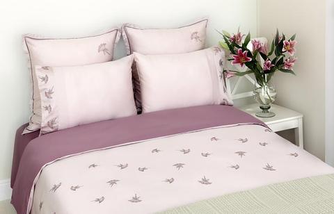 Постельное белье 1.5 спальное Bovi Gardenia лиловое