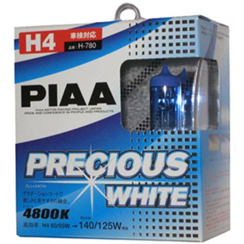 Галогенные лампы PIAA H4 H-780 (4800K) Precious White