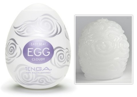 Мужской яйцо мастурбатор Tenga Egg Cloudy
