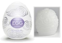 Мужской мастурбатор Tenga Egg Cloudy