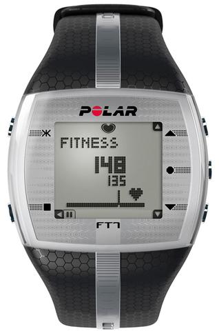 Купить Пульсометр для фитнеса Polar FT7M Black/Silver по доступной цене
