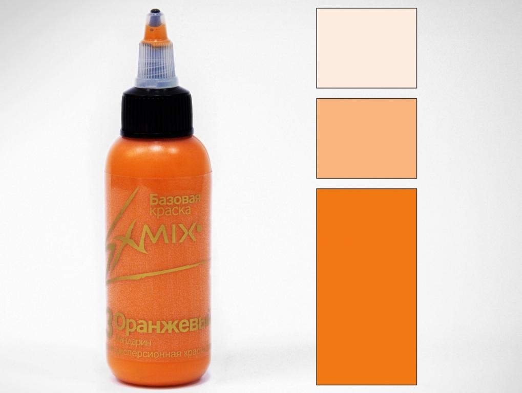 Краска укрывистая Exmix 13 Оранжевый 1000 мл