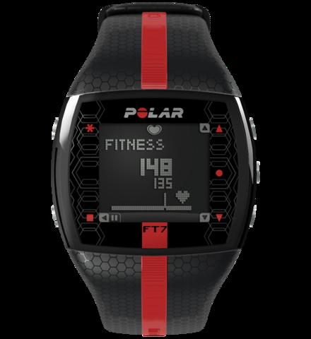 Купить Пульсометр для фитнеса Polar FT7M Black/Red по доступной цене