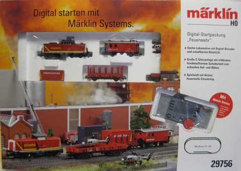 29756 Цифровой стартовый набор Marklin