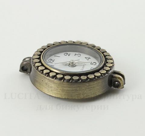 Основа для часов (цвет - античная бронза) 29х22х7,5 мм