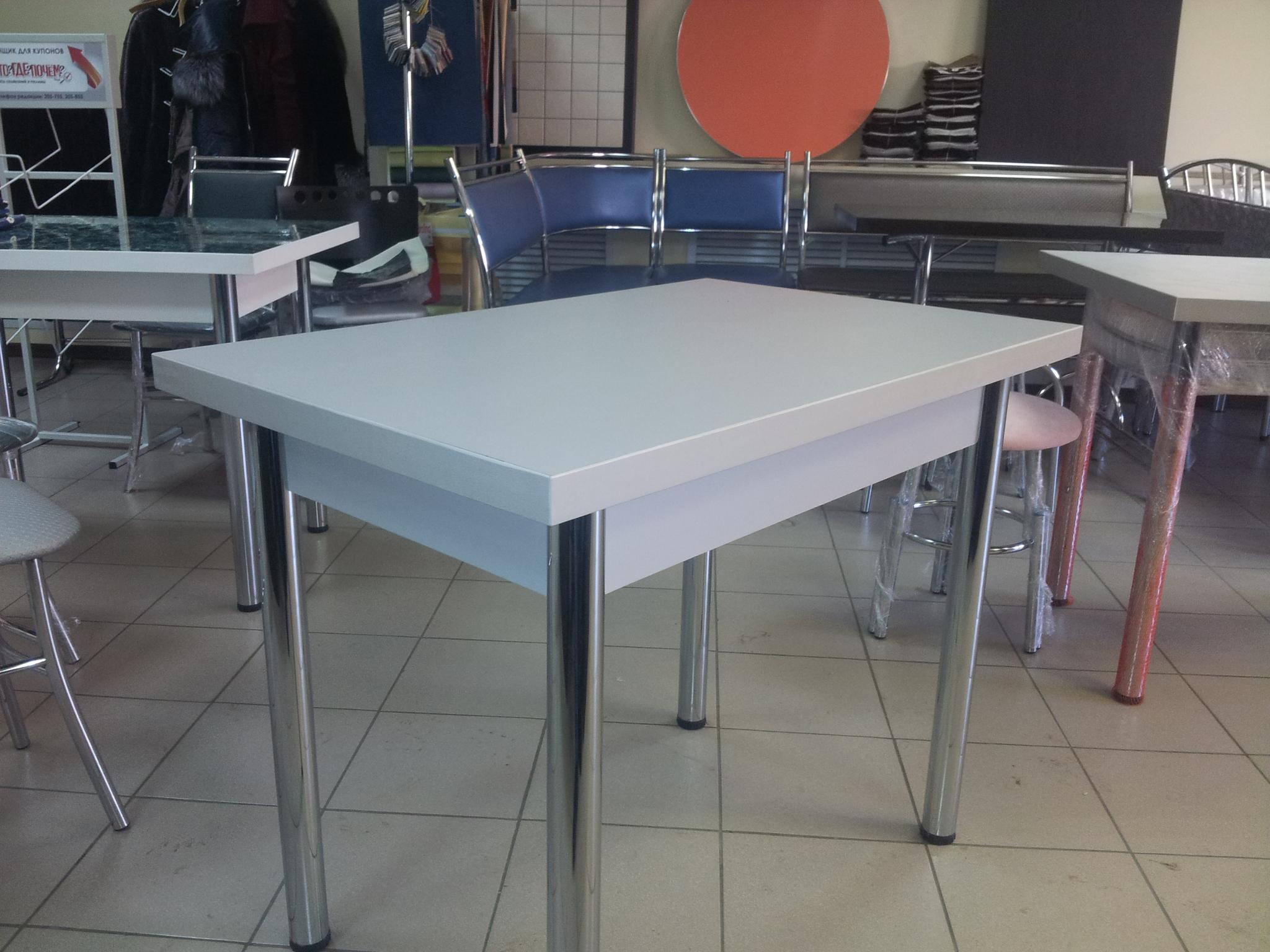 Кухонный стол пластиковая столешница стол ламинированная столешница