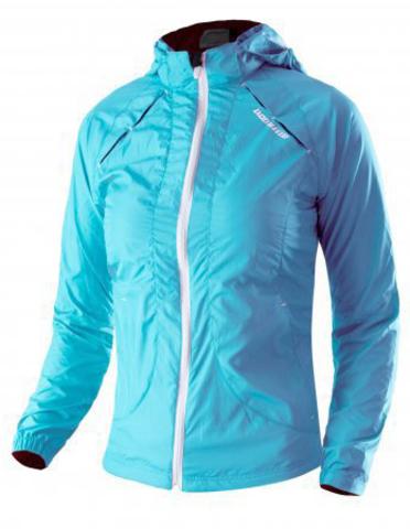 Куртка беговая Noname Luna 13, turquoise, wo's