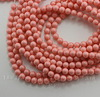 5810 Хрустальный жемчуг Сваровски Crystal Pink Coral круглый 6 мм, 5 штук ()