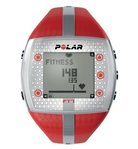 Купить Пульсометр для фитнеса Polar FT7F Red/Silver по доступной цене