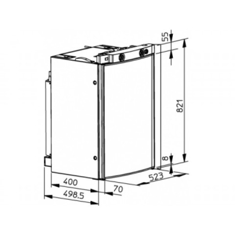 Автохолодильник Dometic RM 8501
