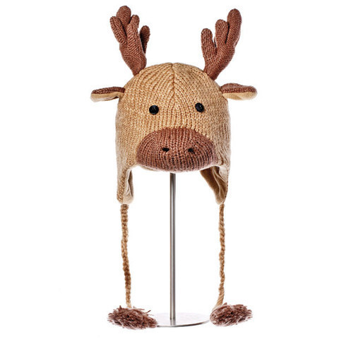 шапка с ушами Knitwits Manny the Moose
