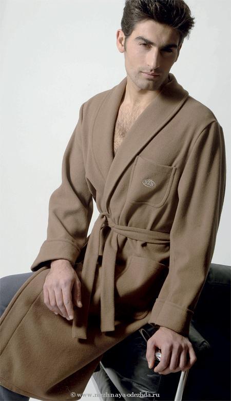 Теплый халат B&B