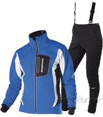 Подростковый лыжный разминочный костюм Noname Rybinsk