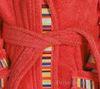 Элитный халат детский махровый Yupi красный от Caleffi