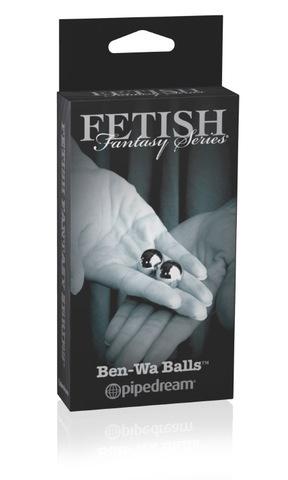 Металлические женские тренажеры Ben Wa Balls (2 см.; вес 2 х 28,3 гр.)