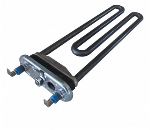 Тэн для стиральной машины Whirlpool 481225928703-1850W без бортика, с отв. см.16rs13