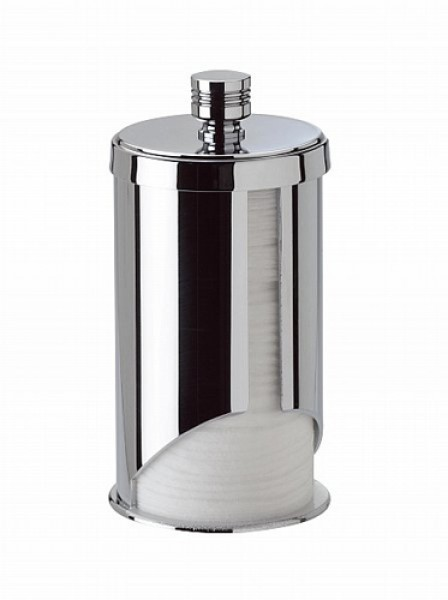 Ванная Емкость для ватных дисков Windisch 88120CRO Ribbed dispenser-dlya-vatnyh-diskov-88120-ribbed-ot-windisch-ispaniya.jpg