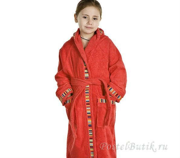 Халаты Элитный халат детский махровый Yupi красный от Caleffi elitniy-halat-detskiy-yupi-krasniy-ot-caleffi-italiya.jpg