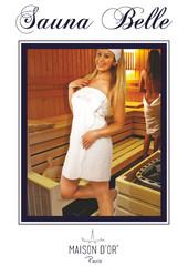 BELLE - БЕЛЛЕ набор женский для сауны / Maison Dor(Турция)