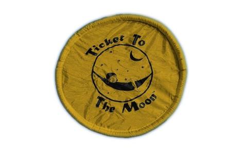 фрисби Ticket To The Moon Dark Yellow