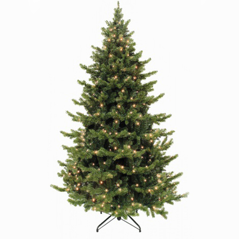 Ёлка Triumph Tree Шервуд премиум 230 см с огоньками