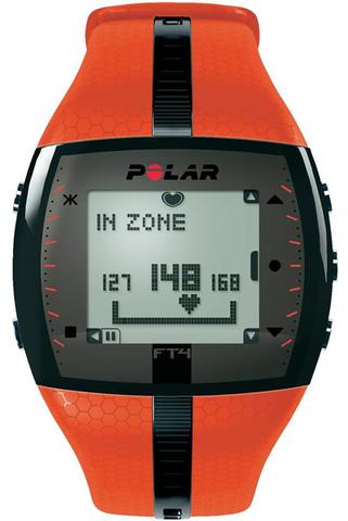 Купить Пульсометр для фитнеса Polar FT4M Orange по доступной цене