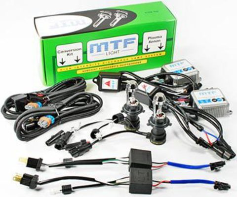 Мото-комплект би-ксенона MTF Light