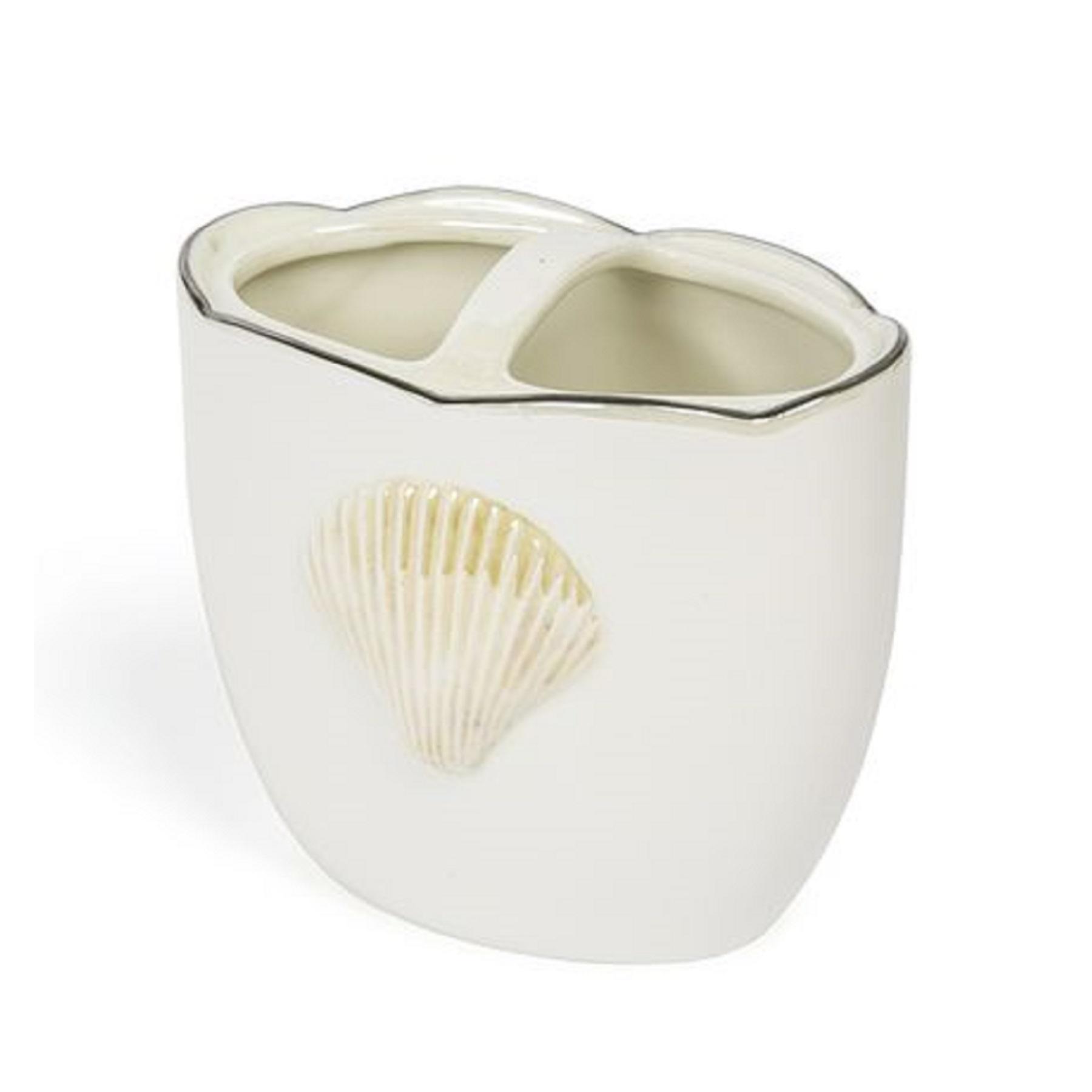 Стаканы для щеток Стакан для зубных щёток Kassatex Mare Shells Pearl stakan-dlya-zubnih-shyotok-mare-shells-pearl-ot-kassatex-ssha-kitay-vid-sboku.jpg