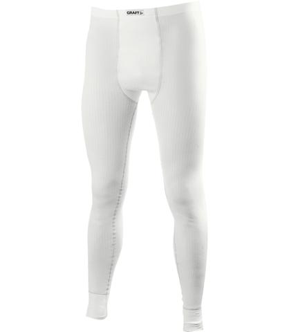 Мужское термобелье рейтузы Craft Active white (197010-2900)