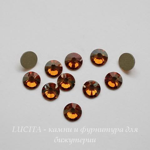 2028/2058 Стразы Сваровски холодной фиксации Crystal Copper ss30 (6,32-6,5 мм) ()