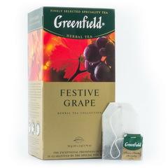 """Чай """"Greenfield"""" Festive Grape 25*1,5г"""