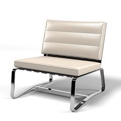 кресло delaunay armchair (кожа)