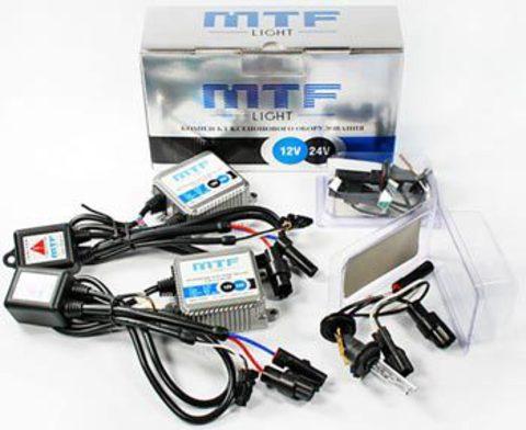 Мото-комплект ксенона MTF Light с колбами Philips