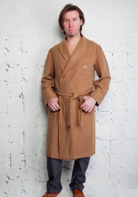 Теплый халат B&B (Мужские халаты)