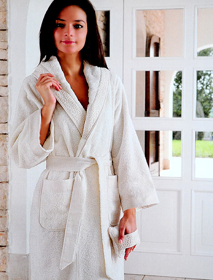 Элитный халат махровый Lumen от Timas