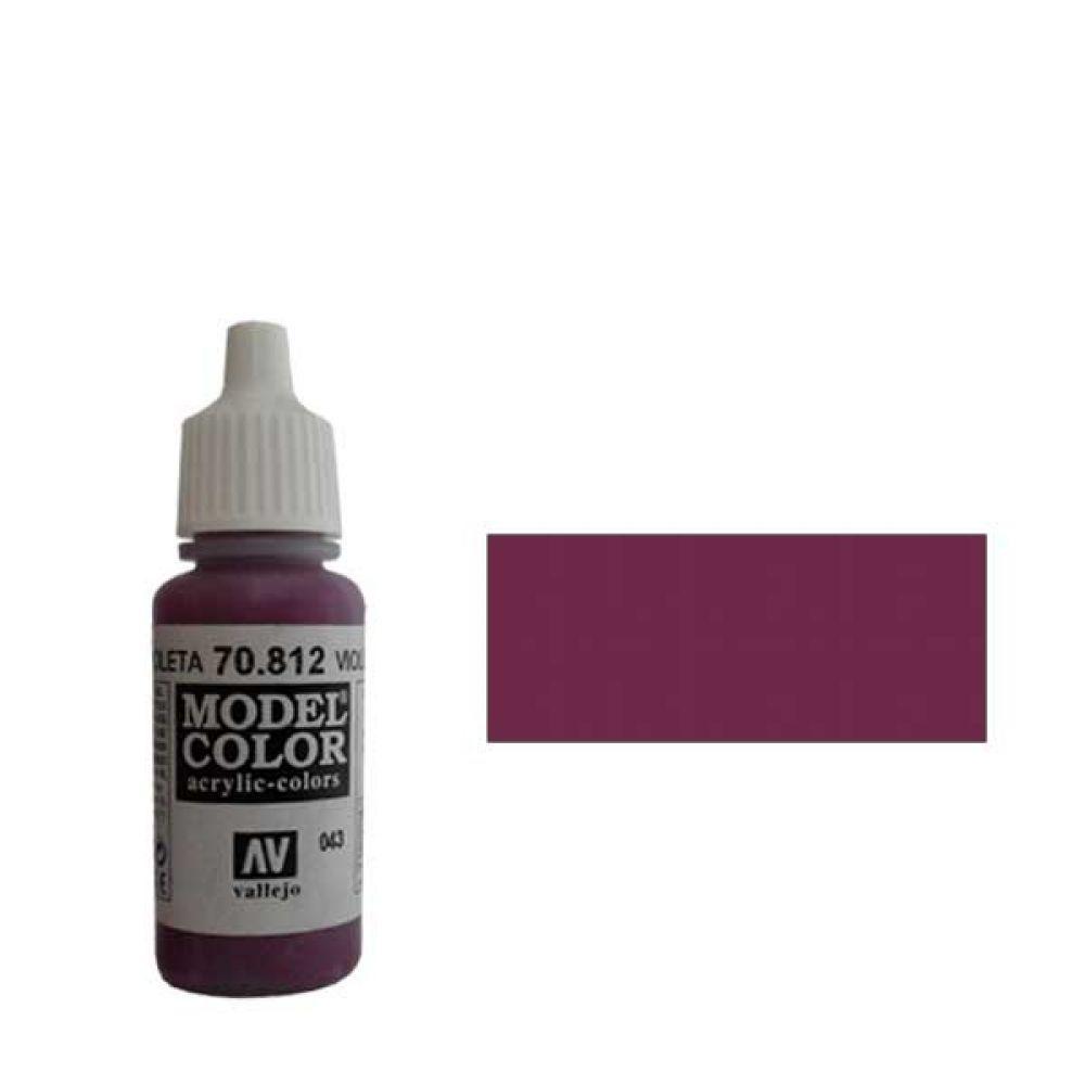 043. Краска Model Color Фиолетовый 960 (Violet Red) укрывистый, 17мл