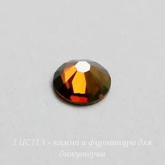 2058 Стразы Сваровски холодной фиксации Crystal Copper ss12 (3,0-3,2 мм), 10 штук