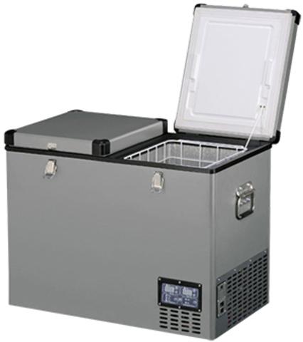 Компрессорный автохолодильник Indel B TB 92DD Steel (92л)
