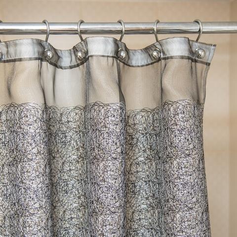 Элитная шторка для ванной Beret C. Grey от Arti-Deco