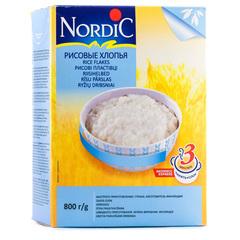 Хлопья Nordic Рисовые 800 г