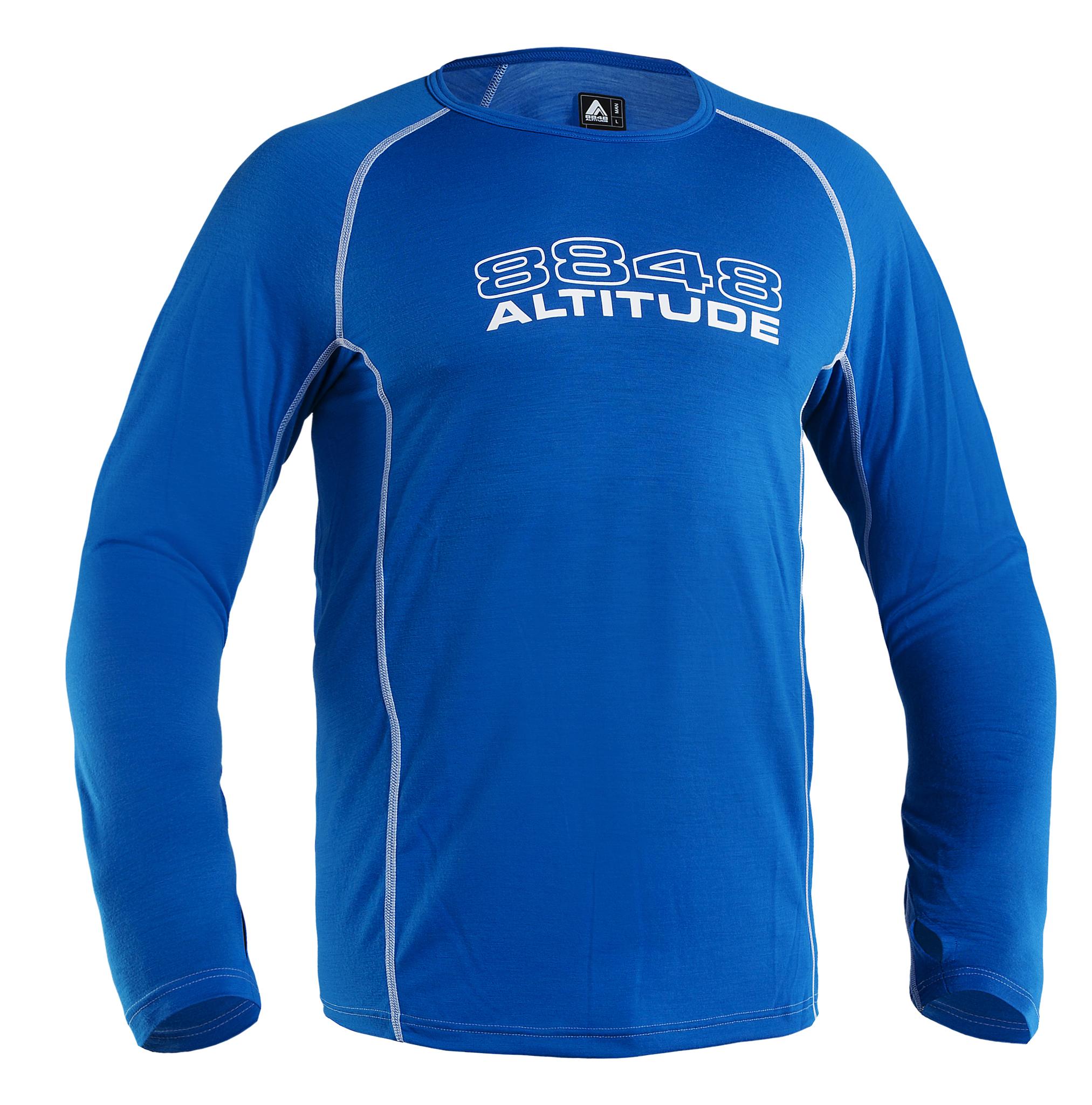 Термофутболка 8848 Altitude NEO CREWNECK мужская BLUE