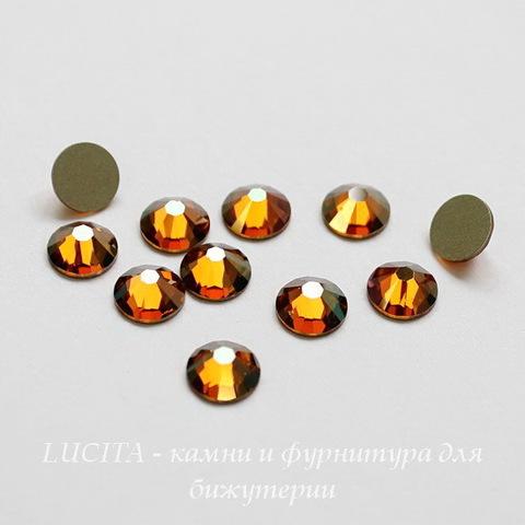 2028/2058 Стразы Сваровски холодной фиксации Crystal Copper ss12 (3,0-3,2 мм), 10 штук