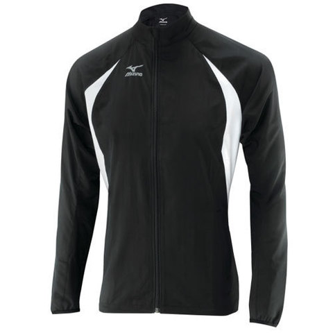 Ветровка Mizuno TR Men light weight jacket чёрная