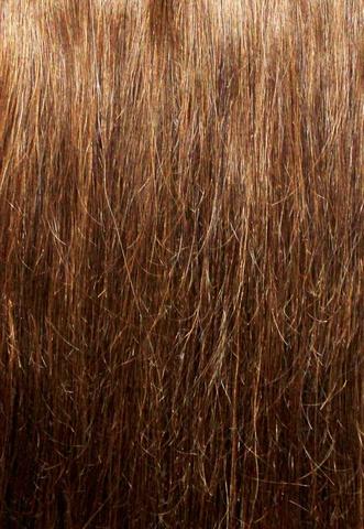 Накладка из натуральных волос Magic Strands -Оттенок 6-темно русый-длина 38 см