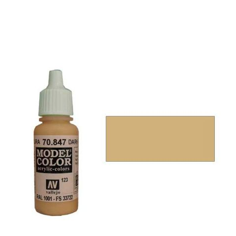 123. Краска Model Color Темный Песок 847 (Dark Sand) укрывистый, 17мл