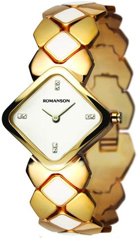 Купить Наручные часы Romanson RM1202LGWH по доступной цене
