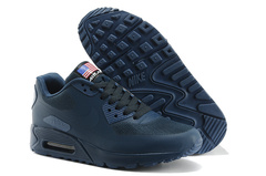 Кроссовки мужские Nike Air Max 90 HyperFuse Independence Day  Dark Blue